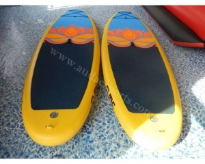 China Inflatable Yoga Stand Up Paddle Boards SUP Mat on sale