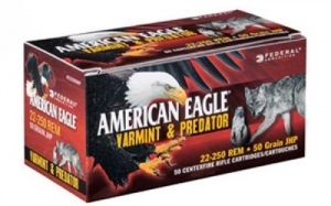 China Federal American Eagle Varmint & Predator, 308 Win, 130 Grain, Jacketed Hollow Point, 40 Round Box on sale