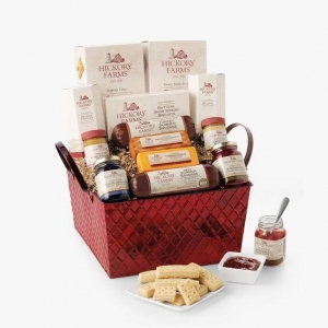 China Gifts Hickory Farms Savory & Sweet Holiday Gift Basket on sale