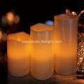 China LED candle Set with Ivory Design Luxury Collection on sale