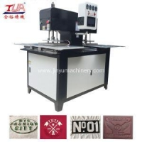 China Automatic Embossing Machine Automatic Hydraulic Press Machine for Clothes Logo on sale