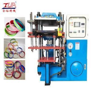 China Hydraulic Machine Single Head Rubber Silicone Bracelet Making Equipment on sale