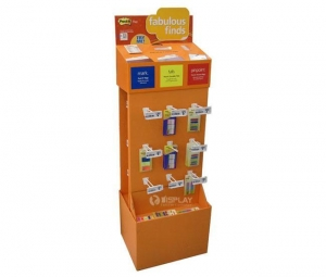China Marks & Tabs & Pinpoints Retail Sotre Peg Hook Cardboard Floor Displays Suppliers on sale