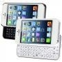 China Mobile phone Accessories Slide Wireless Bluetooth Keyboard Hard Shell Back Case Cover for