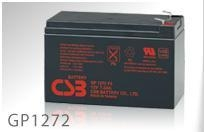 China GP1272 CSB 12V 7.2Ah Rechargeable Sealed Lead Acid Battery on sale
