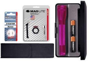 China 2AA Mini MagLite Gift Kit, Pink M2AKYL-KIT on sale