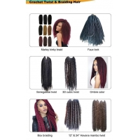 Crochet Twist&Braiding Hair Crochet twist and braiding hair