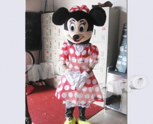 China Disney Minnie Mouse Plush Costume Adult on sale