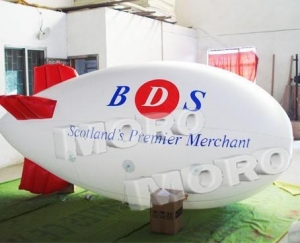 China Inflatable Zeppelin Airship for Advertising/Inflatable Helium Blimp Balloon for Sale on sale