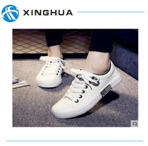 China Couple Canvas Shoes With Rubber Outsole on sale