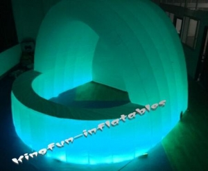 China Inflatable bar&wall Lighted inflatable pub bar 2016 Details on sale