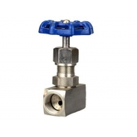 China Female thread stainless steel needle valve on sale