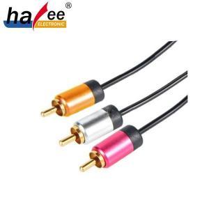 China Cable RCA Cable de 3 RCA macho a macho on sale