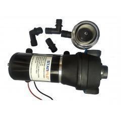 China Marine Water Pump 17LPM 40PSI Diaphragm Pump on sale