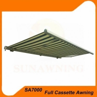 Full Cassette Rtractable Awning