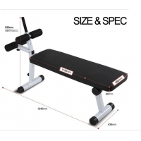 Sports & Entertainment Home Exercise Bench Adjustable Sit Up Bench Abdominal Board