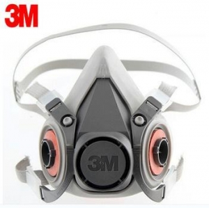 China 3M 6200 Reusable Half Face Mask Respirator Economical Low-maintenance Simple to Handle Lightweight on sale