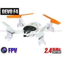 Walkera Dragonfly QR-W100S 5.8G FPV Version 4CH RC Quadcopter RTF 2.4GHz w/ Devo F4 TX