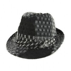 China Mega Cap 8936-Jacquard Fedora Hat on sale