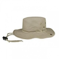 China Mega Cap 7805A-Brushed Twill Aussie Hat on sale