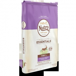 China WHOLESOME ESSENTIALS Adult Dry Dog Food Venison Meal, Brown Rice & Oatmeal Recipe on sale