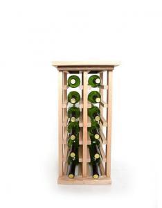 China Small Capacity Wine Racks 12 Bottle Wine Rack on sale