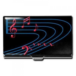 China New & Noteworthy Jazz Music Business Card Case (Design by Lenny White) on sale