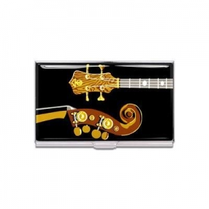 China New & Noteworthy Four Strings Business Card Case (design by Stanley Clarke) on sale