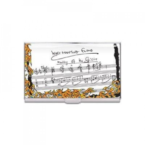 China New & Noteworthy The Inner Mounting Flame Business Card Case (Designed by John McLaughlin) on sale