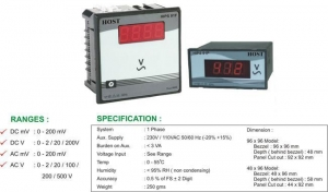 China 1 Phase Volt Meter on sale