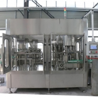 Automatic Rotary Glass Bottle Water Filling Plant For Sale