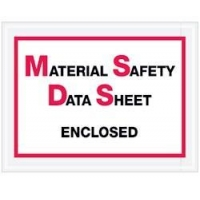 Material Safety Data Sheet Enclosed Envelopes
