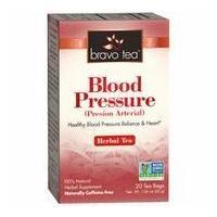 China Blood Pressure Herbal Tea, 20 Tea Bags, Bravo Tea on sale