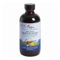China PRI Propolis & Manuka Honey Cough Elixir, Original Flavor, 8 oz, Pacific Resources International on sale