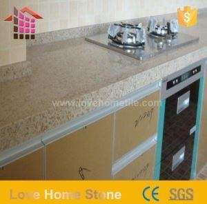 China Cambria Black and Grey Quartz Kitchen Countertops with Good Quality on sale