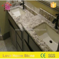 China Modern Design Kitchens with Slab Granite Countertops and Thickness Can Be Customize on sale