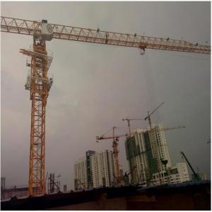 China QTP125(TC6013) 8t New flattop Potain Tower Crane on sale