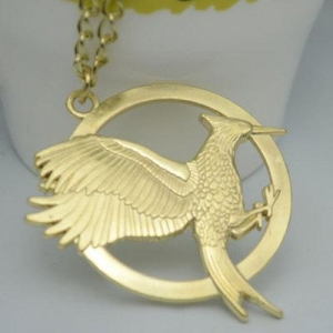 China Big European And American Gucci Jewelry New Mockingjay Hunger Games Spark Bird Necklace on sale