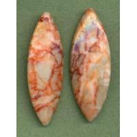 Drops & Pendants 0242-4558/20mm Natural Stone Horse Eye Pendant