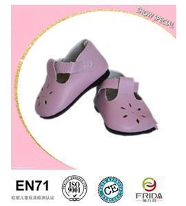 China pink elegant dolls shoes for sale on sale