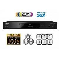 Pioneer BDP-X300-K 3D Blu-ray PlayerMultiregion Blu-ray+DVD
