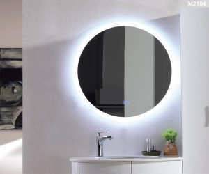 China Mirror Smart LED Bathroom Mirror With Bluetooth on sale