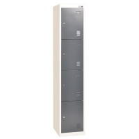 High Quality Cheap Staff Clothing Four Doors GYM Metal Steel Locker Cabinet