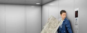 China Freight Elevator Machine Room Less Elevator on sale