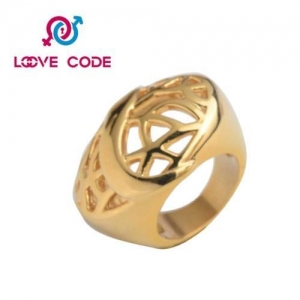 China 14k big thick cheap gold rings for women on sale on sale
