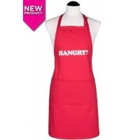 Men's HANGRY? Apron  Red
