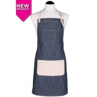Men's Denim & Leather Apron