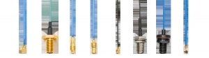 China Micro-miniature & PCB Micro-miniature &PCB RF Coaxial Cable Assemblies on sale