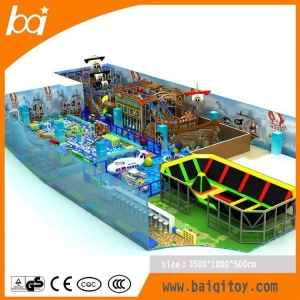 China Large commercial indoor pirate ship playground on sale