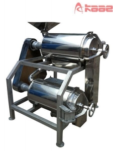 China Crushing/PulpingMachine Industrial Fruit and Vegetable Double Stage Pulping Puree Making Machine on sale